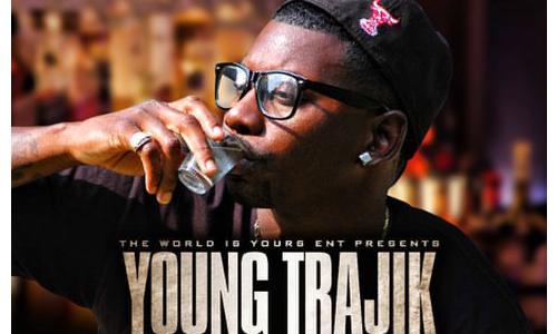 Young Trajik Straight Shots Single Cover