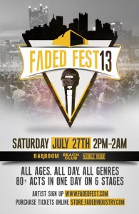 Faded Fest 2013