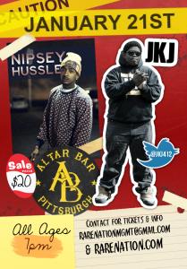 January-21st Nipsey Hussle