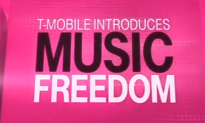 Music News: T-Mobile's Music Freedom