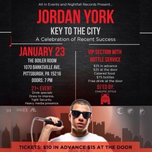 Jordan York Key to the City