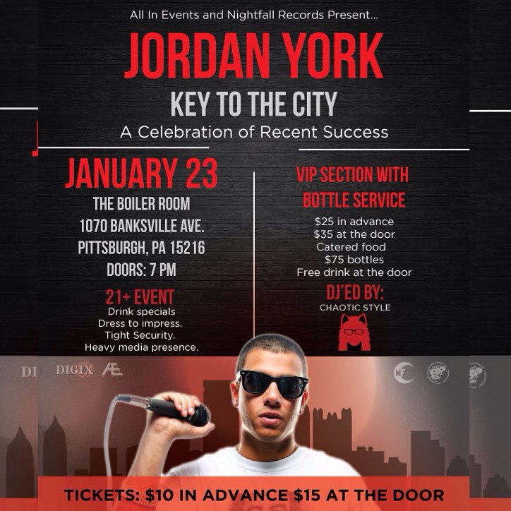 Jordan York Key to the City