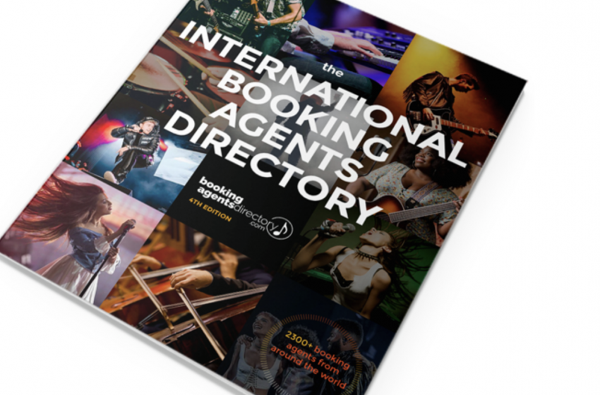 INTERNATIONAL BOOKING AGENTS DIRECTORY  is HERE