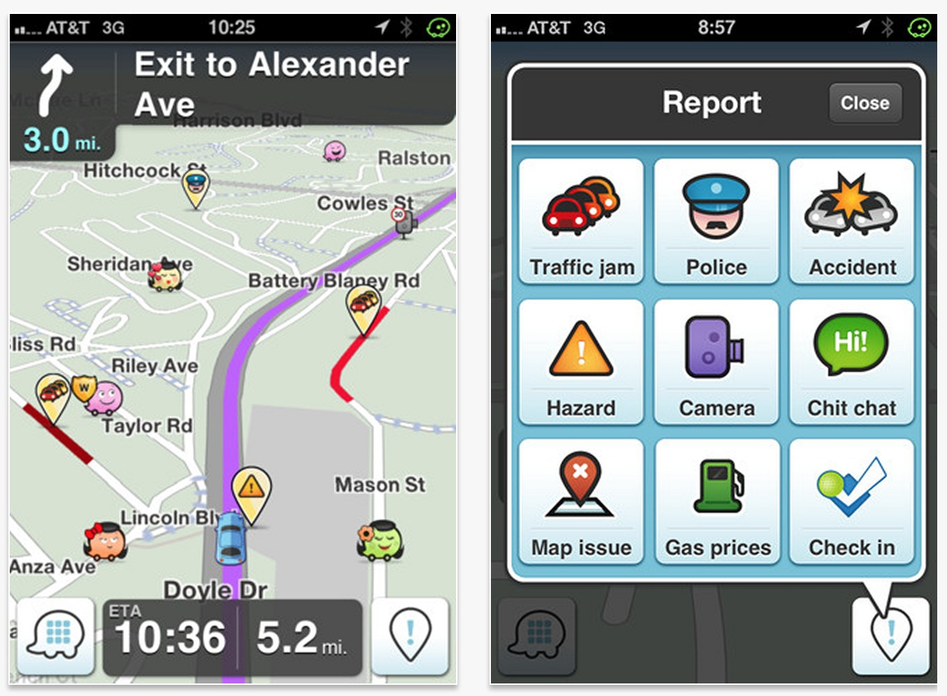 News: Waze's has the Police in Waves